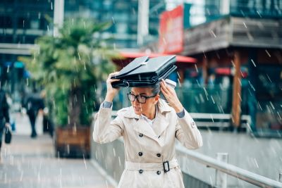 Handy trick will stop you forgetting your umbrella on a rainy day