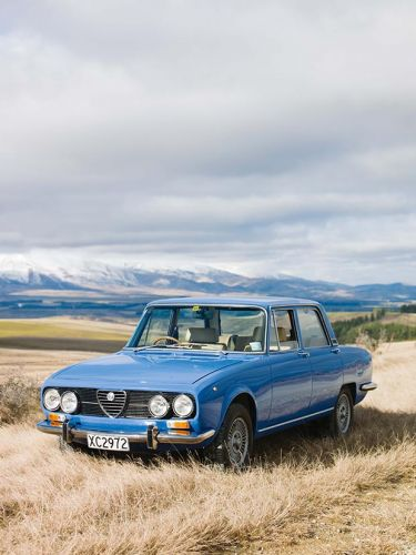 The Otago man who waited 12 years for a 1974 Alfa Romeo Berlina
