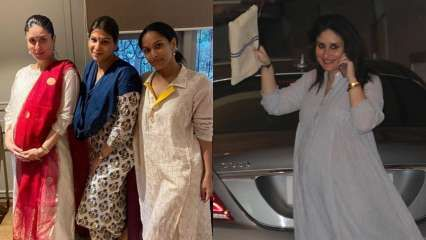 Mom-to-be Kareena Kapoor Khan aces comfy ethnic looks at pre-Diwali bashes, says she's in love with her 'bindi'