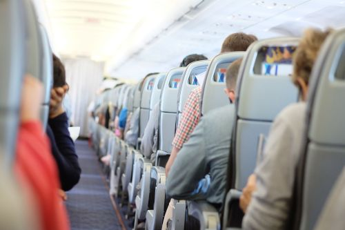 How do you prevent blood clots when flying?