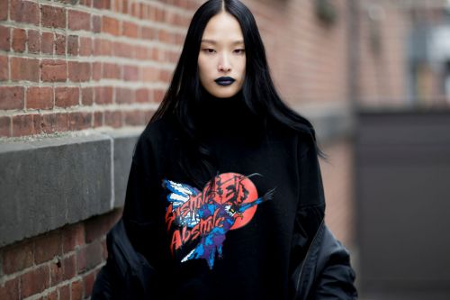 See the Best Beauty Street Style Snaps from New York Fashion Week