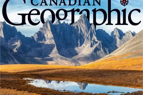 Revealing Canadian Geographic's September/October 2019 cover