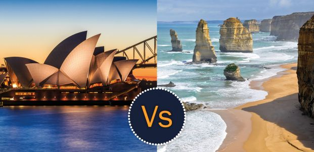 Battle down under: Sydney Versus Melbourne