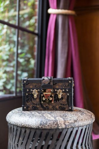 A Closer Look at the Louis Vuitton Petite Malle Bag
