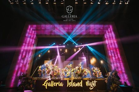 Galleria's Island Wedding Festival Attended by International Celebrities High-End Luxury Brands