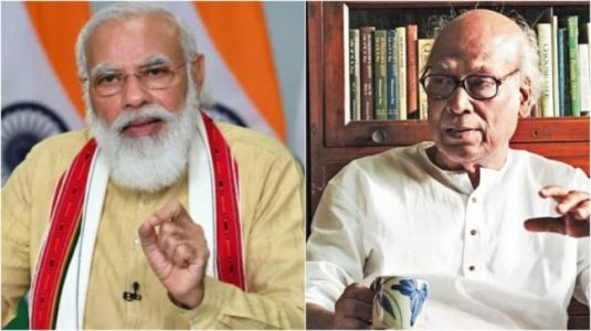PM Modi remembers Bengali poet Sankha Ghosh for his contribution to Indian literature