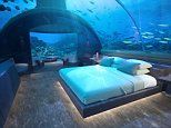 First ever undersea villa set to open in luxury hotel in the Maldives