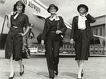 Unseen British Airways photos reveal how iconic cabin crew uniforms have changed