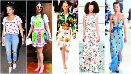 Passion fruit: What makes fashion set go bananas over tropical delights