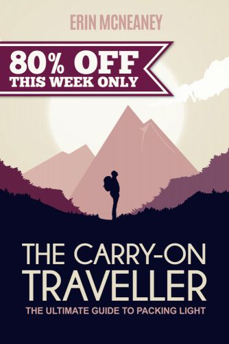 Save 80% on The Carry-On Traveller Book and Learn How to Pack Light