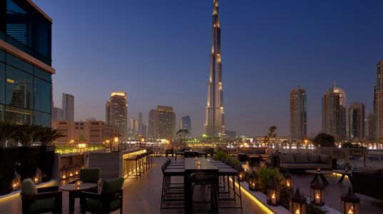 5 Of The Best Rooftop Bars In Dubai