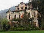 Inside Villa de Vecchi Italy's abandoned 'ghost mansion'