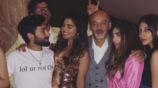 Isha Ambani parties the night away in gold figure-hugging sequinned dress. See pic