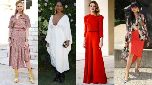Your Favorite Celebrities Know It's Always Fashion Week Somewhere