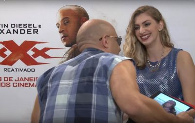 Watch Vin Diesel Creepily Hit on a Reporter By Crawling Towards Her
