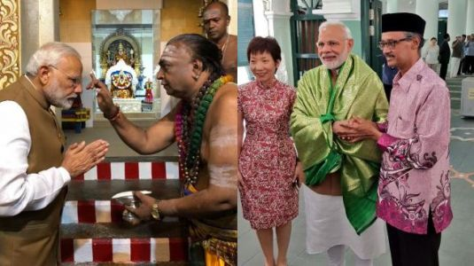 Why Modi visited Mariamman Temple and Chulia Mosque in Singapore