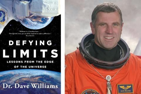 Sneak preview: Defying Limits, by astronaut Dave Williams