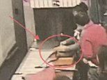 Caught on camera: Airport security guard steals £450 from a bag