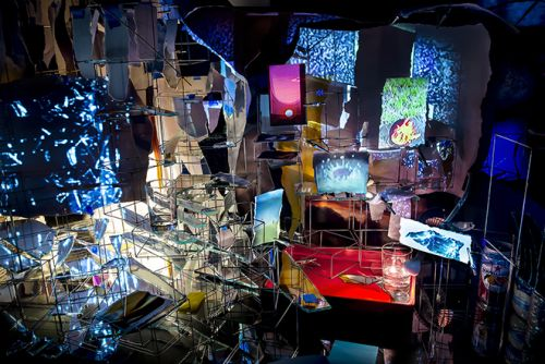Sarah Sze Depicts The Timeless Elements of Nature Through A 'Night into Day' Exhibition