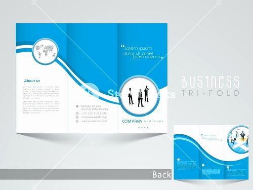 30 Lovely Tri Fold Template Photoshop Images