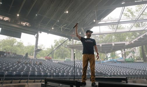 Last night before a huge summer concert tour? Here's what happens behind the scenes