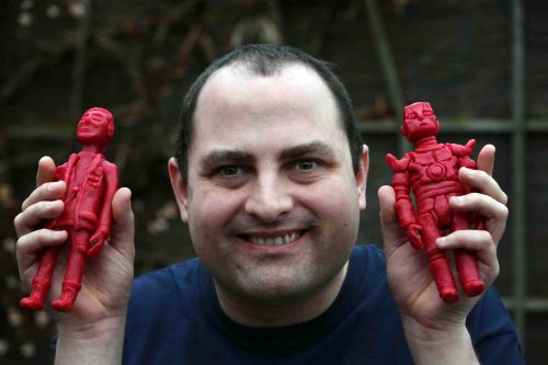 Star Wars, Lord Of The Rings, Disney sculptures made entirely out of.Babybel cheese?