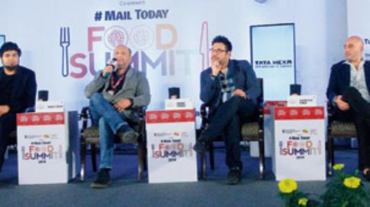 Food entrepreneurs talk about their journey of success at Mail Today Food Summit 2018