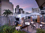 The Cape Town hotel with rooftop AIRSTREAMS you can sleep in