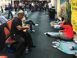 Holidaymakers claim they have been stranded at Barbados Airport