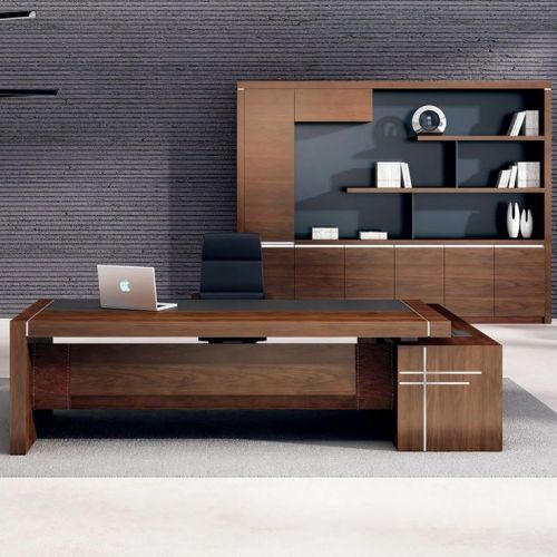 20 Inspirational Modern Executive Office Desk Pics