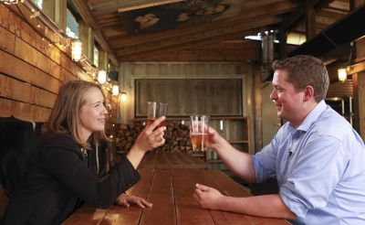A Beer with Andrew Scheer: Conservative Leader, Popcorn Addict. Feminist?
