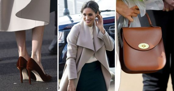 Meghan Markle's bag in Belfast carries a special message about her future in the royal family