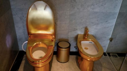 From tubs to toilets, Vietnam 5-star hotel opens with gold-plated pizzazz