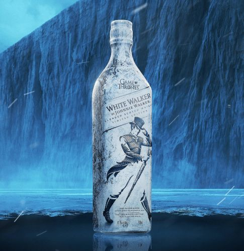 Enter the icy cold world of Westeros with the White Walker by Johnnie Walker