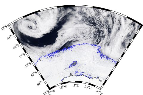 A huge hole in Antarctica's sea ice could offer insight into climate change