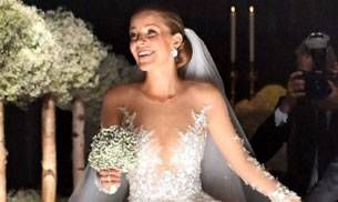 Victoria Swarovski wore a Rs 5 crore dress to her wedding!