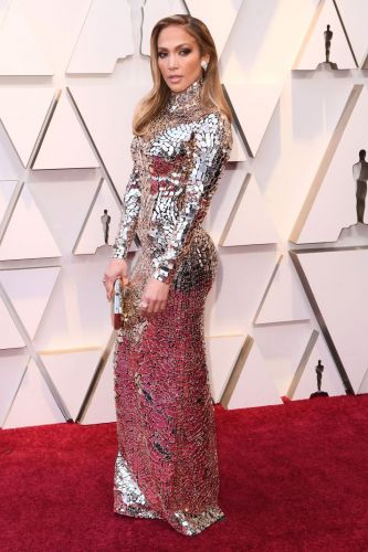 Jennifer Lopez Looked Like a Walking Disco Ball at the Oscars-and Yes, It Was Hot
