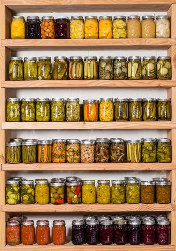 How to create a preserver's paradise - a pantry for year-round food storage