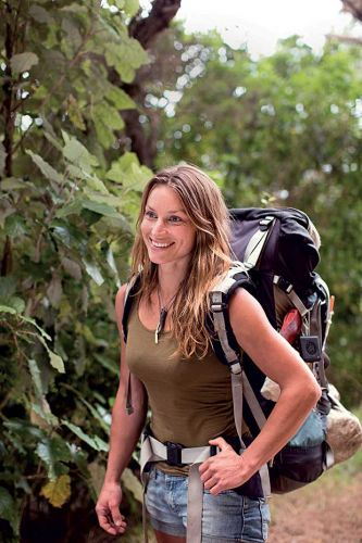 Woman in the Wilderness author Miriam Lancewood loves a life without walls
