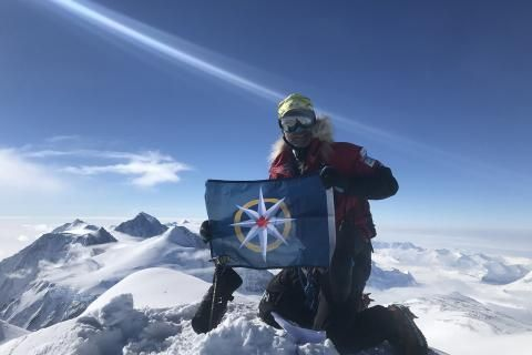Meet the Canadian explorer who just completed the Seven Summits