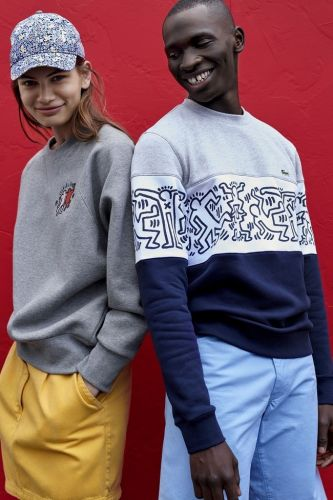 Lacoste Pays Tribute to Artist Keith Haring