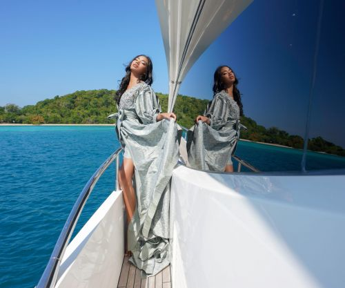 Sunseeker Yacht, Turkish Fashion, Thai Silks: Ozlem Suer Style On Board