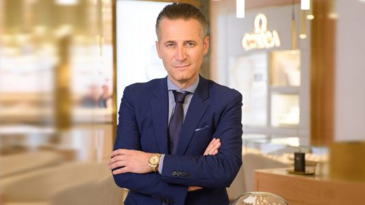 Q&A: OMEGA's CEO Raynald Aeschlimann on Cindy Crawford and the new Manhattan timepieces
