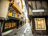 Britain's quaintest streets revealed: From Scotland to the Cotswolds