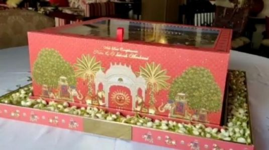 Akash Ambani and Shloka Mehta Wedding: Watch unboxing video of grand invite