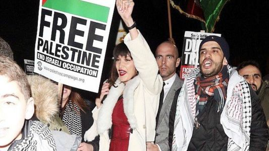 "Bella Hadid Attended a ""Free Palestine"" Protest in London"