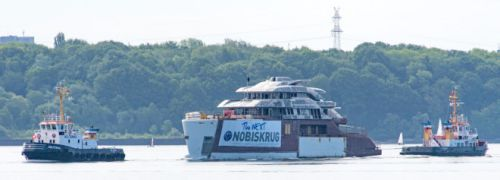 Nobiskrug Outfits 62m Project 794 in Rendsburg for Imperial Client