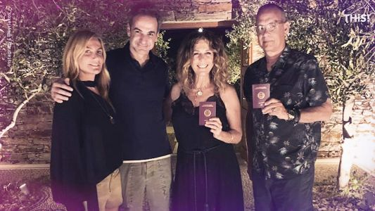 How Tom Hanks and Rita Wilson became citizens of Greece