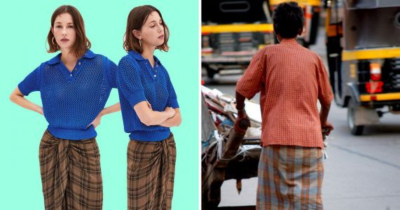 Zara is trying to sell your dad's £3 lungi for £70