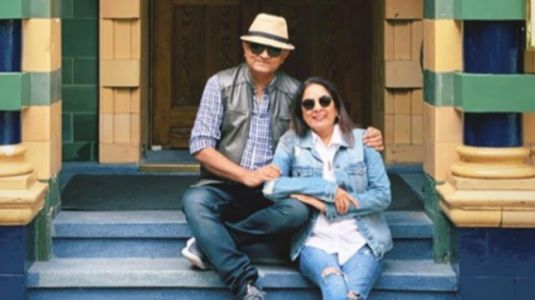 Neena Gupta teaches London how to do denim-on-denim right in jeans and jacket